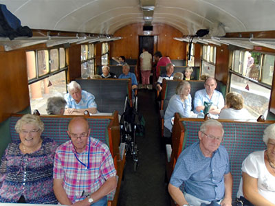Cotswold Steam Train Trip