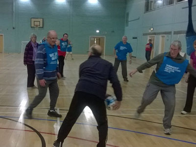 Walking Football at Grange Leisure